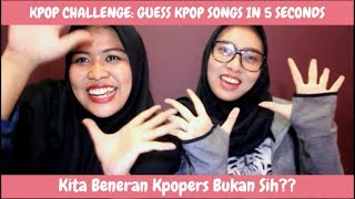 Sok Tau Tapi Salah | KPOP CHELLENGE : Guess Kpop Songs in 5 Seconds