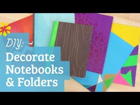 Decoration Ideas Notebooks