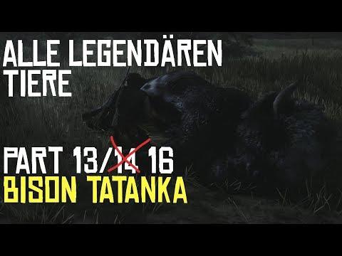 RED DEAD REDEMPTION 2 | JAGEN | ALLE LEGENDÄREN TIERE PART 13/14 Der Bison Tatanka