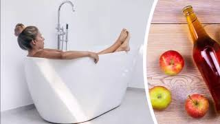 The Benefits Of Dropping Apple Cider Vinegar Into Your Bathtub