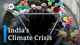 Climate crisis in India: Heat wave causes water scarcity | DW News