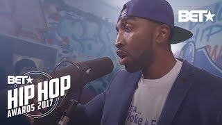 Mysonne Makes You Listen Twice At BET Hip Hop Awards 2017 Freestyle