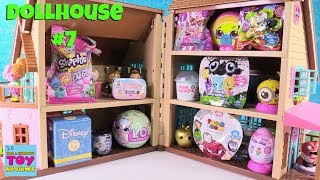 Blind Bag Dollhouse #7 Unboxing Disney Baby Secrets Num Noms Shopkins MLP | PSToyReviews