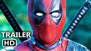 DEADPOOL 2 Official Trailer (2018) Ryan Reynolds Action Comedy Movie HD