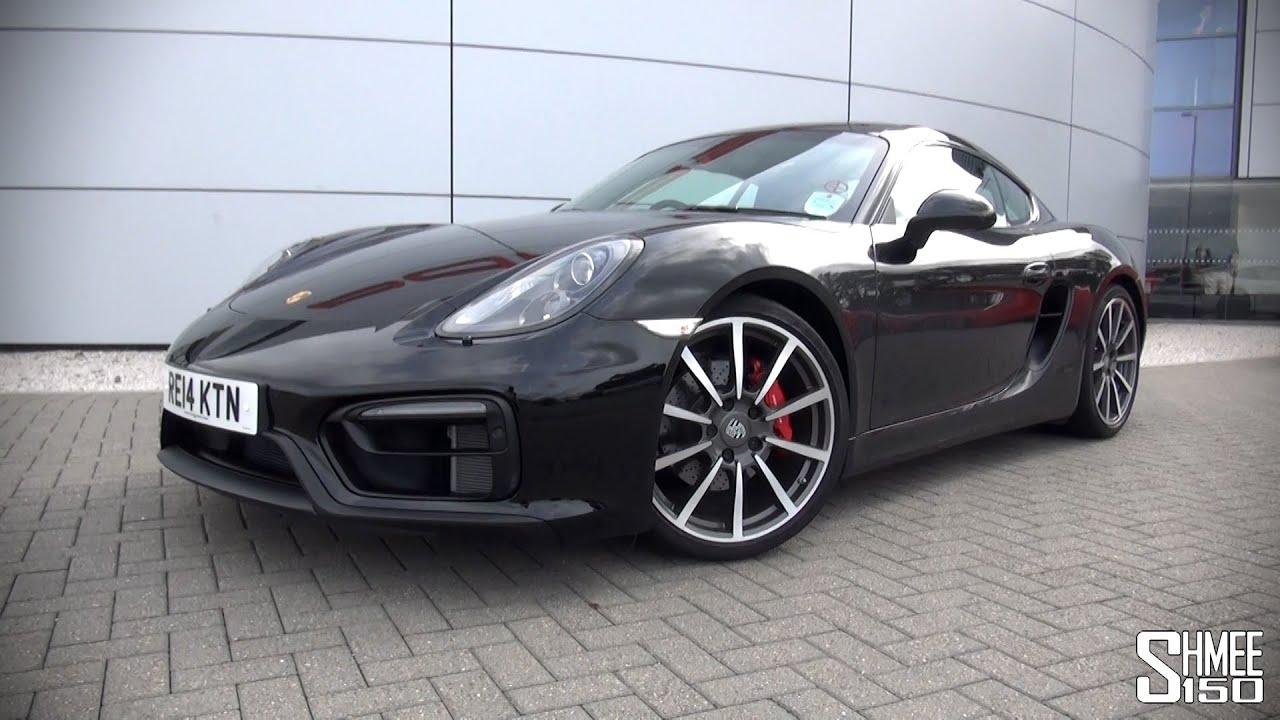 Porsche Cayman GTS - Introduction, Start and Revs - YouTube