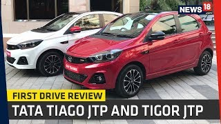 Tata Tiago JTP and Tigor JTP First Drive Review