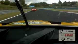 Timo Glock vs. Edoardo Mortara (Onboard) (Hungaroring) - DTM 2014 streaming