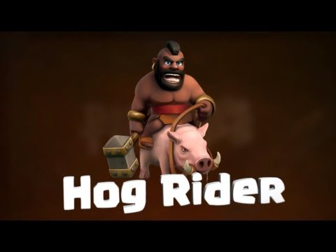 Clash Of Clans Unlimited Gems Ifunbox new clash clans hog rider troop gameplaythis is new hog rider 480x360