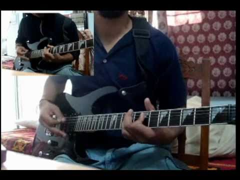 Opeth - Deliverance Guitar Cover Rhythm and Solo Dual Video.