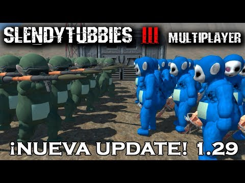 SLENDYTUBBIES 3: MULTIJUGADOR ¡NUEVO TOBBY INFECTADO SANDBOX 5