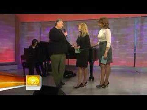 Harvey Fierstein serenades Kathie Lee Gifford Video