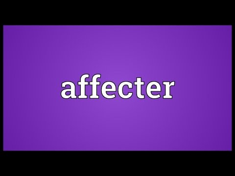 Header of Affecter