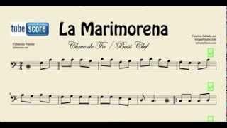 La Marimorena Partitura de Trombn Tuba Chelo Fagot