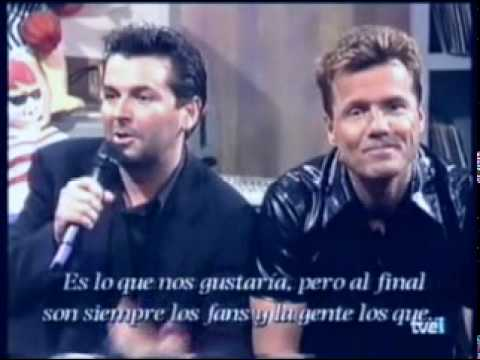 Modern Talking - Sexy Sexy Lover - Interview video