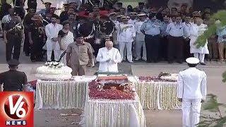 Foreign Dignitaries and Politicians Pay Final Tributes to Atal Bihari Vajpayee At Smriti Sthal