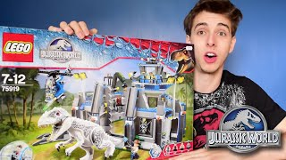 INDOMINUS REX!! - Indominus Rex Breakout Jurassic World Lego Set - Review/Build