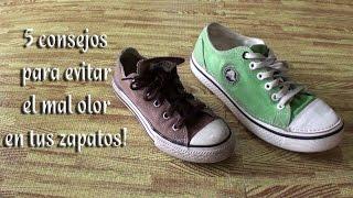 5 Consejos para que tus zapatos no huelan mal