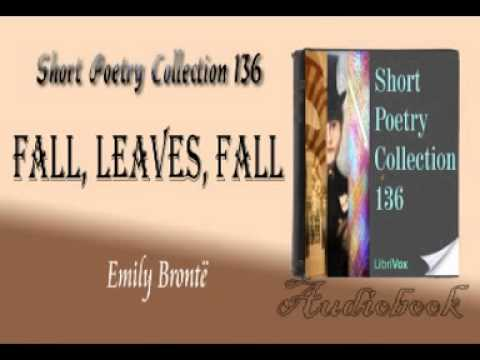 Fall, leaves, fall Emily Brontë audiobook
