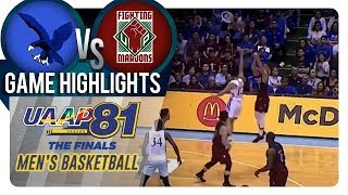 UAAP 81 MB Finals - Game 2: ADMU vs. UP | Game Highlights | December 5, 2018