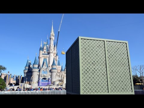 Magic Kingdom Hub Expansion Progress Update at Walt Disney World - January 17th, 2015