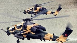 T-129 ATAK-2016/ Turkish Military T129 ATAK Attack Helicopter