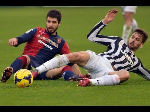 GOAL!! Juventus vs Cagliari 1- 1 (Luca Rossettini) Seria A 9.5.2015