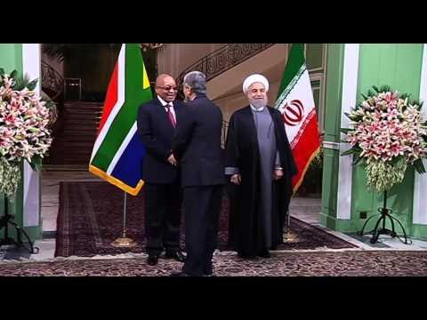 President Jacob Zuma's State Visit to The Islamic Republic of Iran, Tehran