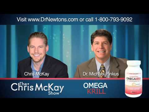 The Chris McKay Show: Interview with Dr. Michael Pinkus about OmegaKrill