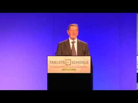 Rt Hon David Blunkett -  Tablets for Schools Conference