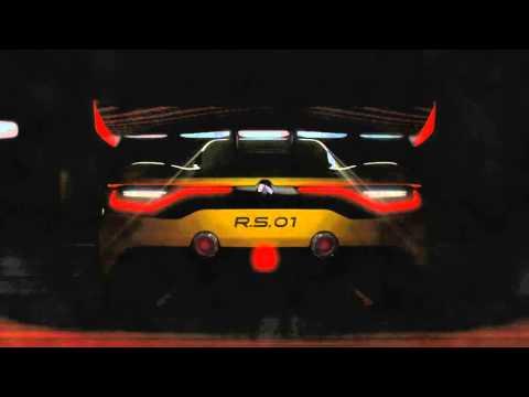 Renault Sport RS 01 Concept teaser