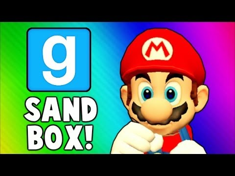 Gmod Sandbox Funny Moments MOON Edition - Doritos Bag Fight, The Matrix, Space Ship (Garry's Mod)