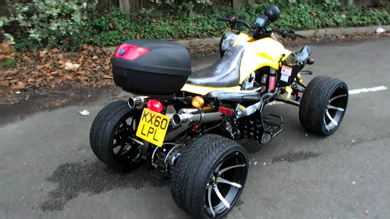 Roadrunner 250cc Custom Road Legal Quad Bike Youtube
