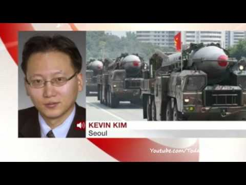 North Korea test-fires mid-range missiles