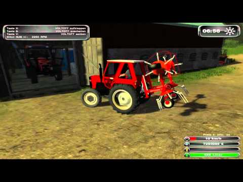 Farming simulator 2011~ Ko šnja na majhni kmetiji.wmv