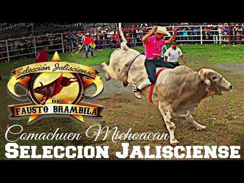 FIESTA COLORIDA Y TRADICIONAL Selección Jalisciense en Comachuen Michoacan