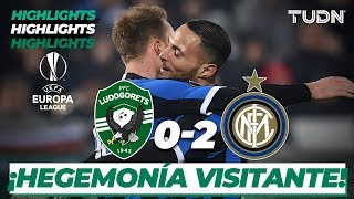 Highlights | Ludogorets 0 - 2 Inter Milán | Europa League - 16vos de final | TUDN