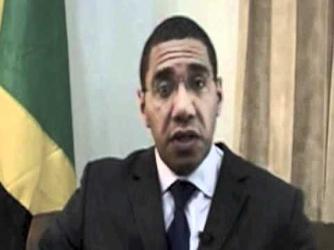 Jamaica Opposition Leader the Honourable Andrew Holness  Statement of Commitment at RTD 2012 Launch