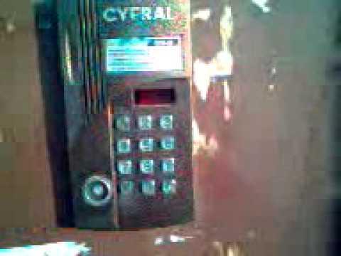 Как запрограммировать домофон ЦИФРАЛ. Взлом домофона CYFRAL CCD-20 (3 ч