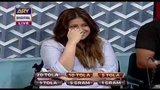 Fahad Mustafa nay Apni biwi say live show main kya keh diya!!!!