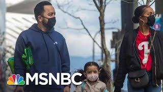 CDC Changes Guidance, Says People Should Wear Face Coverings When Outside | The Day That Was | MSNBC