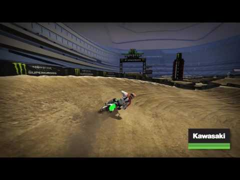 Arlington Supercross 2017 - Kawasaki Track Map