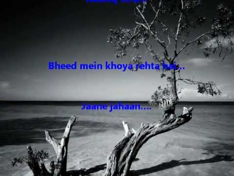 Emptiness - Tune Mere Jaana Kabhi Nahin Jaana - With Lyrics -...