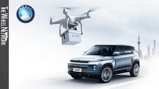 Geely Car Keys Deliveries By Drone