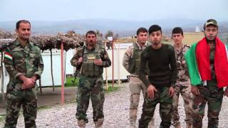 Hersh Ft Hakar ( Bijit Peshmerge ) Jin Band New Clip 2014
