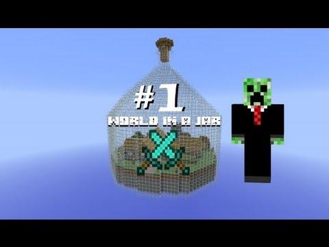 Minecraft: Выживание в бутылке - Часть 1 - Куча алмазов