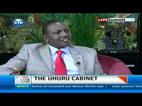 Deputy President William Ruto's interview