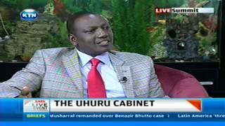 Deputy President William Ruto's interview