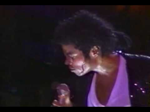 Michael Jackson - Shake your body down to the ground LIVE (Bad tour 1987) PART 2