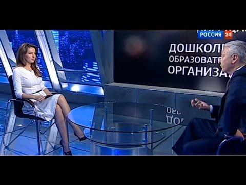 Ведущая Татьяна Столярова. Интервью Сергея Собянина