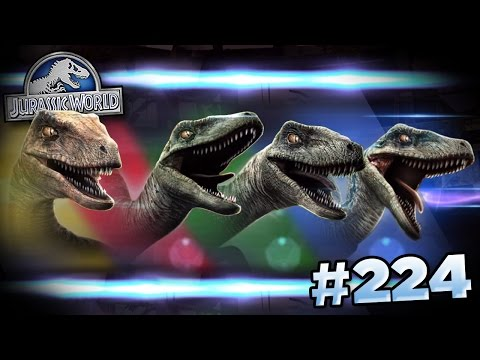 RAPTOR PACK POWER!!! || Jurassic World - The Game - Ep224 HD